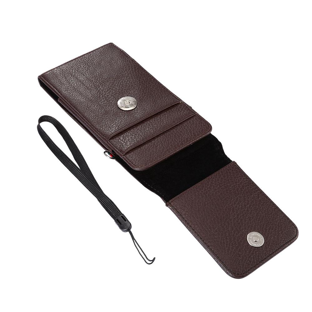 Boucho påse PU läder telefon flip multifunktionsskydd telefon - Reservdelar och tillbehör för mobiltelefoner - Foto 4
