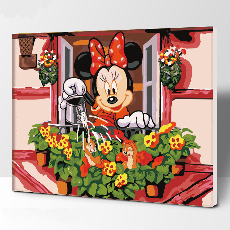 Mickey Mouse Abstract Art