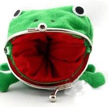 Модный кошелек в виде лягушки, кошелек в стиле аниме, кошелек для монет, фланелевый кошелек манга, дешевый милый кошелек, держатель для монет в стиле Наруто