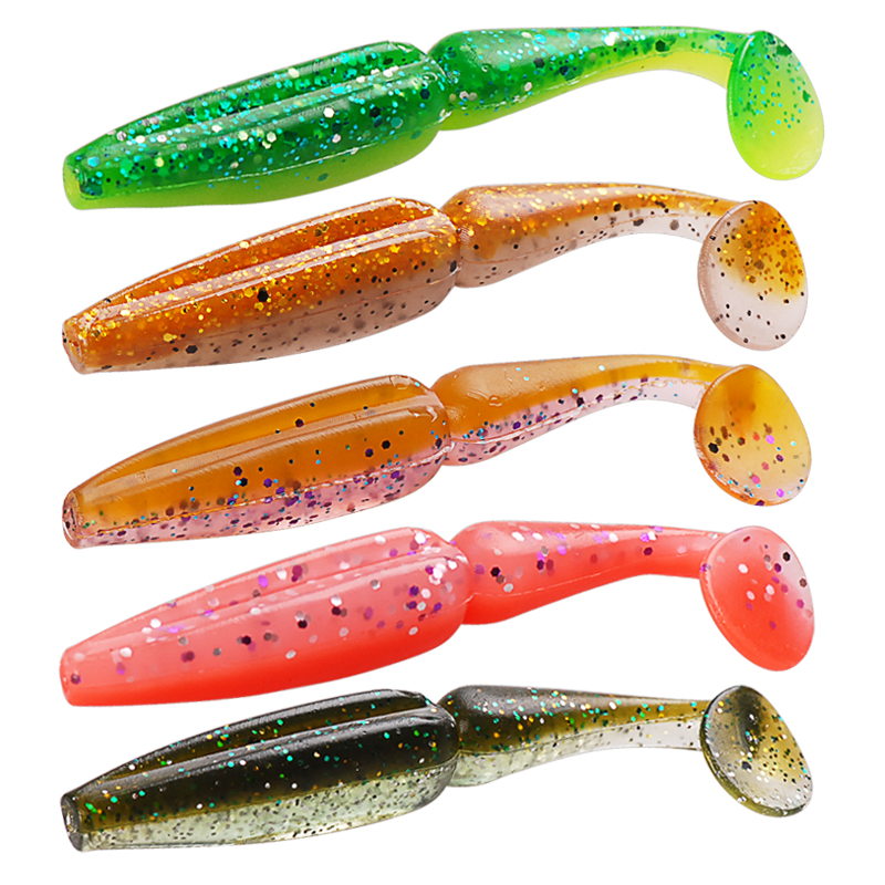 Soft Bait 6Pcs 80mm 3.5g 10Colors Noeby Fishing Lure Saltwater/Freshwater Scented Silicone Baits Wobblers Fly Fish Feeder Pesca 1pc soft fishing lure 6 8cm 2 68 9 36g 0 33oz мягкая свинцовая приманка 8 high carbon hook 6 color silicon wobblers fishing sackle