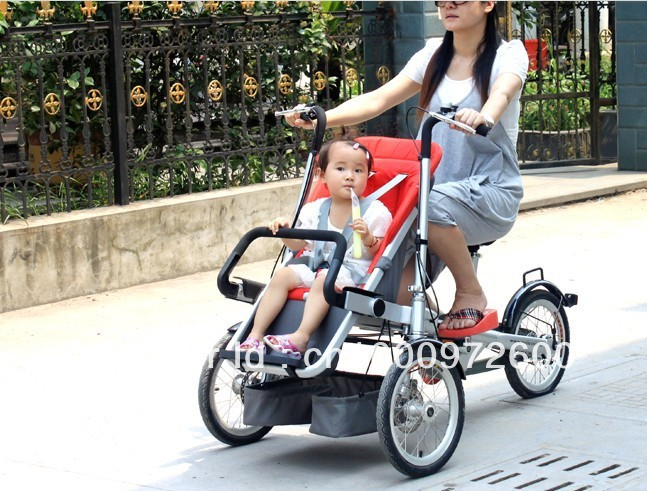 Aliexpress.com : Buy New child and mother stroller bike,baby & mom ...