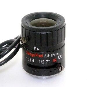 Image 3 - 3MP 2.8 12mm HD 3.0 megapixel Auto Iris varifocale IR metalen CS CCTV lens, F1.4, voor Veiligheid cctv camera