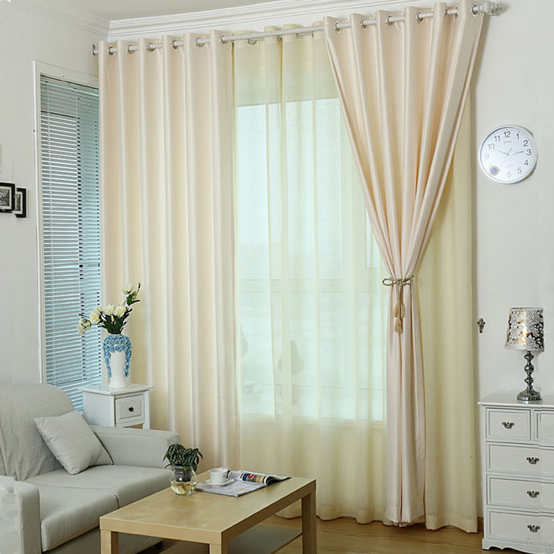 2016 Solid Colors Curtains For The Bedroom Modern Window Living Room Kitchen Fabric Blinds Custom Made In From Home Garden On