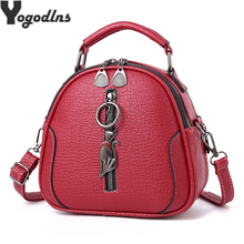 High Quality solid PU Leather Women