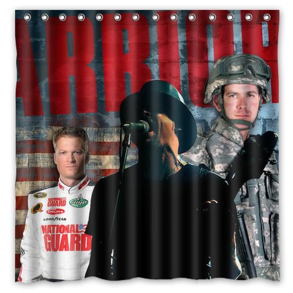 180x180cm Waterproof Fabric Kid Rock Mildew Proof Shower Curtain Bathroom Curtains Free Shipping