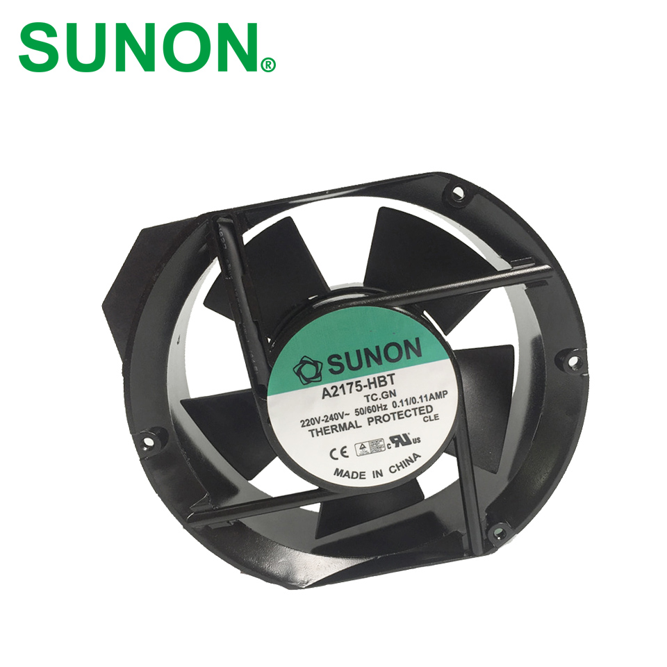 Freeshipping Sunon A2175HBT AC Fan 171x151x5 mm 17CM 17251 230VAC 50 60Hz речь 978 5 9268 2175 5