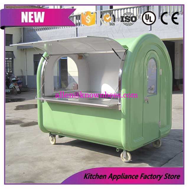 Food Trailer/Mobile Kitchen Truck for sale Best Quality Food Carts ...