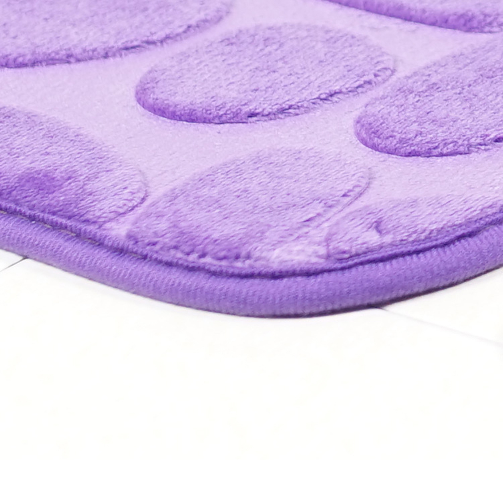 3D Cobblestone Toilet Floor Mat Set Bathroom Carpet 2PCS HD Print Pad Large Size Door Floor Seat Mattress 50*40 /50*80CM D20