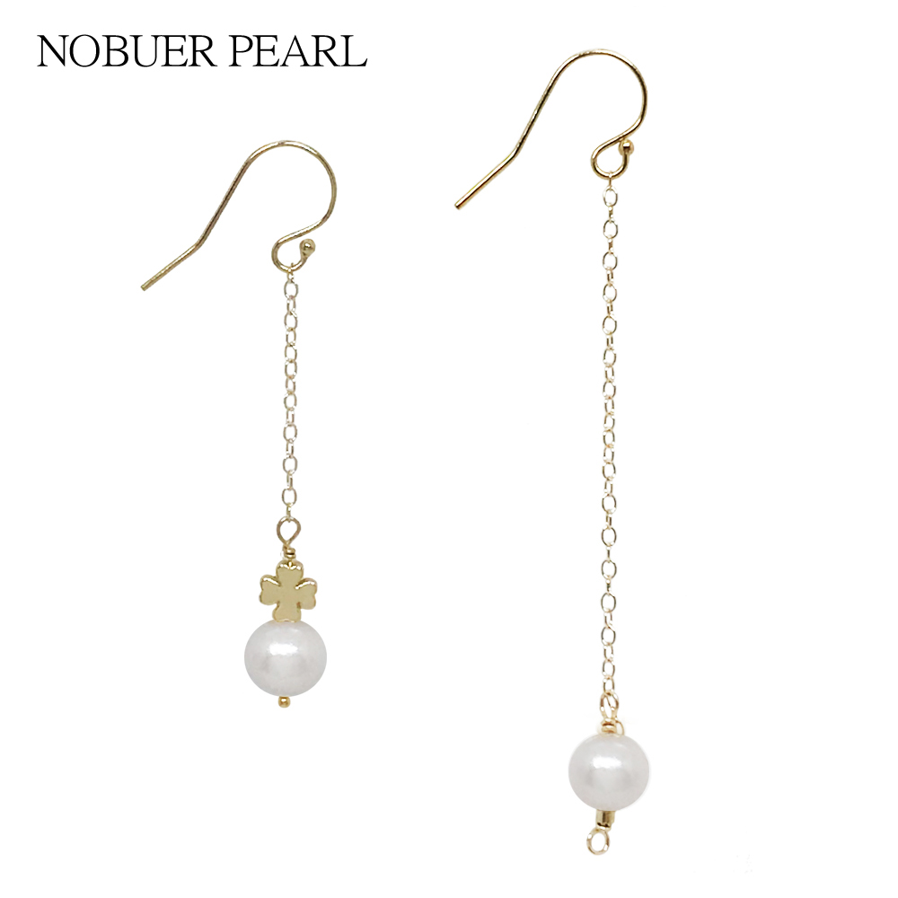 pearl gold mother with and diamond earrings en of bright quartz us