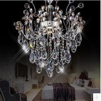 Подвесной светильник светодиодный 31 Вт 40 Вт люстра для спальни ресторана K9 с украшением в виде кристаллов подвесной светильник 110 240 V