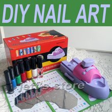 Buy nail print machine and get free shipping on aliexpress taste girl nail printer diy nail art stamping printing machine polish prinsesfo Choice Image
