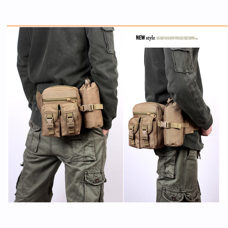 Tactical Hip Bag Men Women Military Waist Bags Outdoor Sport Casual Waterproof Hiking Travel In Packs From Luggage
