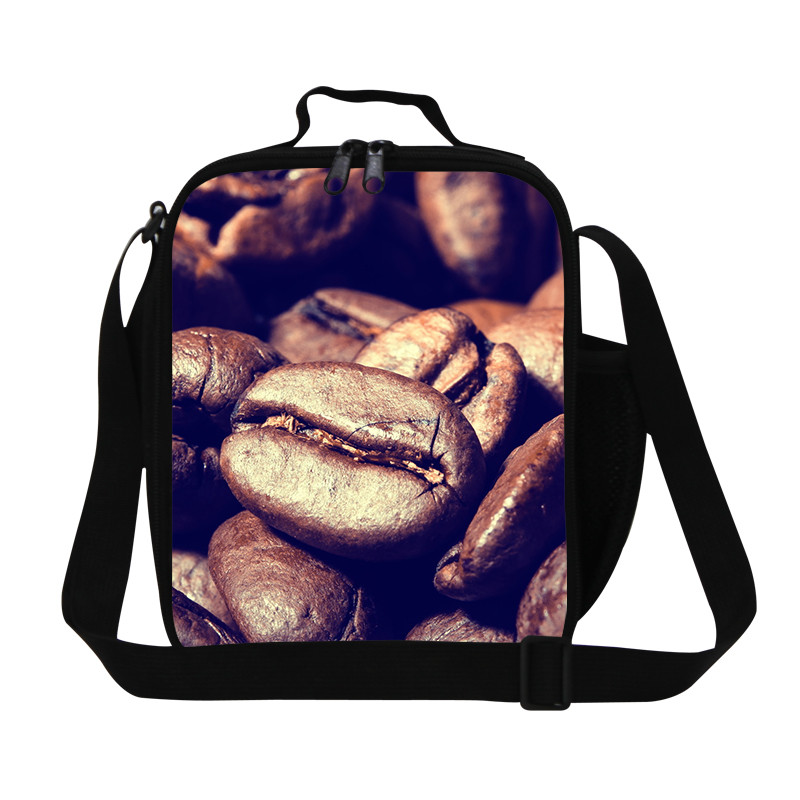 Forward Thermal Insulated Lunch Box Tote Cooler Canvas Zipper Bag Bento Lunch Pouch Hot Insulation bag