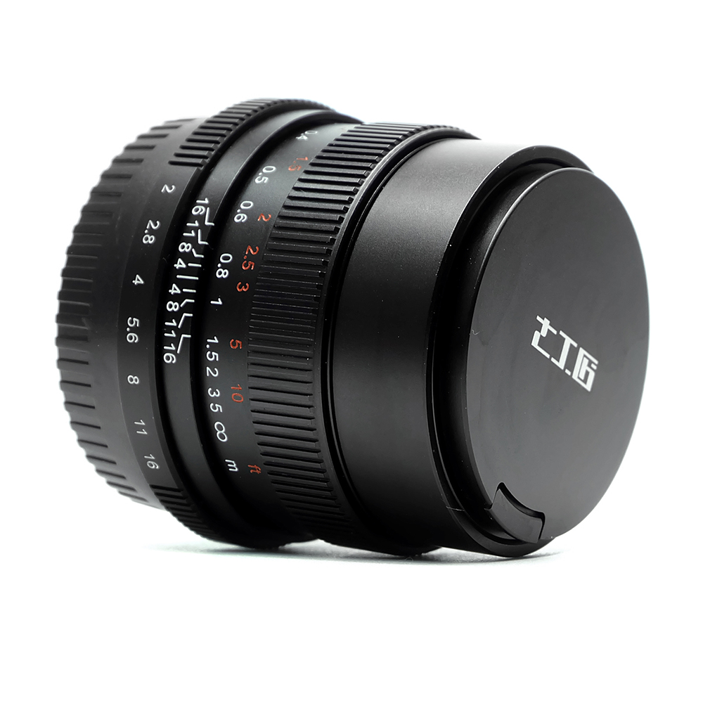 7artisans 35mm F2.0 Full Frame Lens For Micro Single Camera E-mount FX-mount Canon-M Mount A7II AA7RII A7SII A6500 X-A10 X-A2 M5