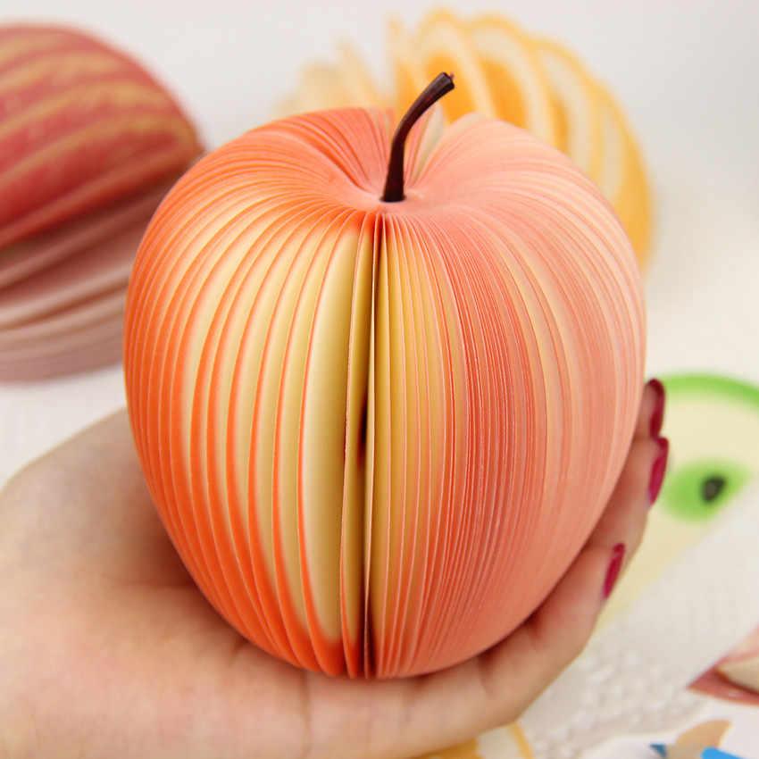 1 шт. Kawaii Apple Блокноты Sticky бумага Скрапбукинг дома самоклеющийся листочек стикеры