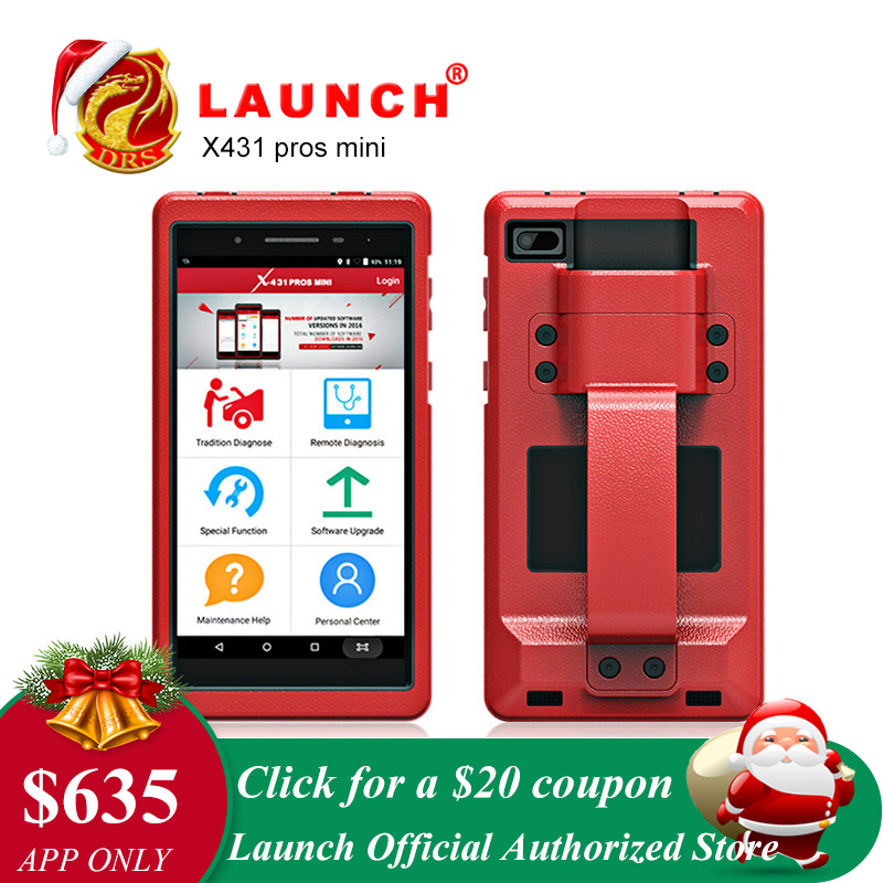 Lancement X431 Pro Pros mini OBD2 De Diagnostic WiFi Bluetooth OBDII Scanner De Diagnostic ECU Codage Automobile Outils comme Lancement x431 V 8