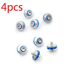 4 pçs/lote Azul Parafusos Para HP 3.5 HDD DC7800 DC7900 8000 8100 Z400 Z600 Grommet 450712-001 Mudo De Montagem Parafusos de Isolamento