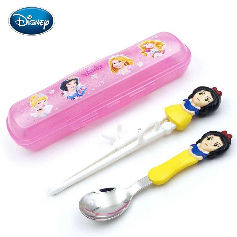 Disney детские палочки для еды мультфильм моделирование учебные палочки для еды обучения палочки для еды Детские вспомогательные палочки для еды коррекция посуда