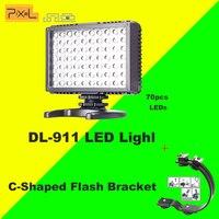 Pixel Sonnon DL 911 2 4GHZ Wireless Group Sync 70pcs LED DV Camcorder DSLR Camera Video