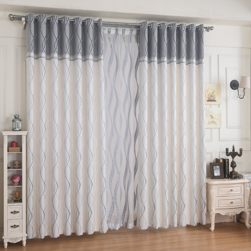 High quality finished product bedroom curtain custom for Bedrooms curtains photos