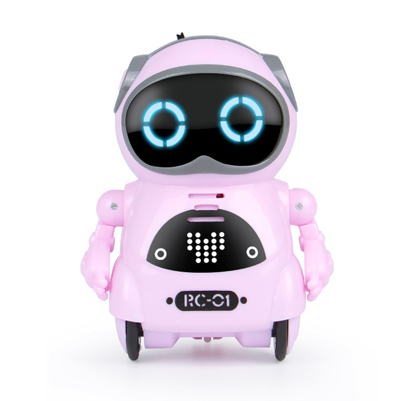 Multifunctional Electric Voice Smart Mini Pocket Robot Early Educational Interaction Tale Robot 998
