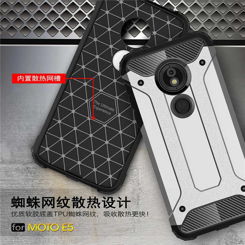 耐衝撃ケースモトローラモト G6 G5 G5S E5 G4 プラス Z 再生力 G3 E3 M TPU + PC ハイブリッドカーボンファイバーシリコンバックカバー
