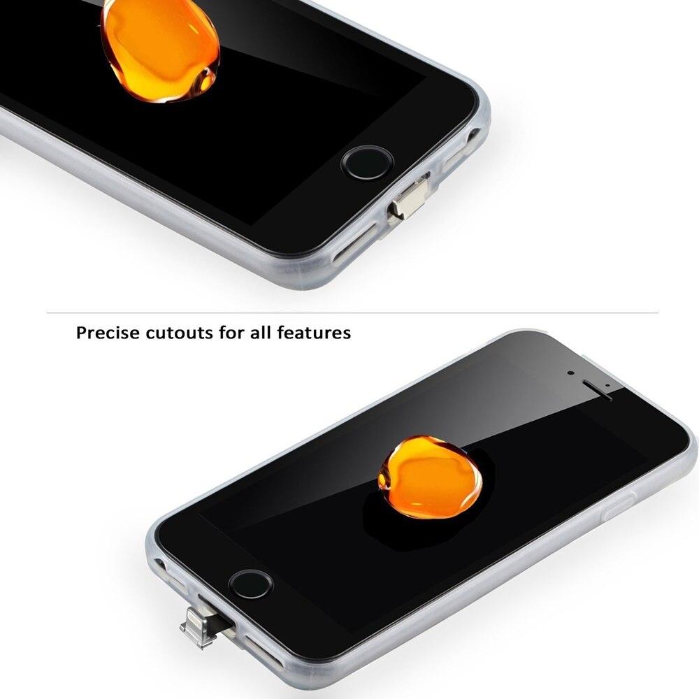 f5f59082f7f Funda del receptor del cargador inalámbrico Qi de FULCOL para iPhone ...