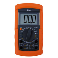 VICI VC890C+ Digital Multimeter 3 1/2 DMM LCD Display Ammeter Voltmeter Ohmmeter W/ 200uF Capacitance Temperature Tester Meter