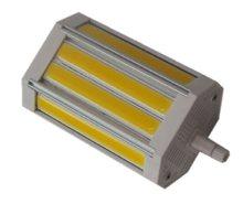 Lampe halogène led 30w COB R7S, 118mm, variable, sans ventilateur, 300-110 V, 240 w