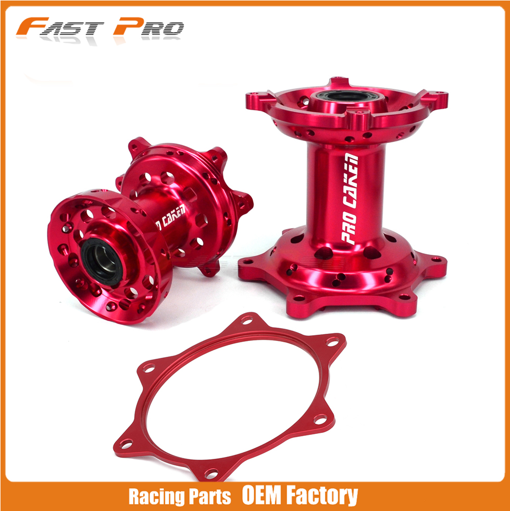 Motorcycle CNC Machined Front Rear Wheel Hub And Spocket Spacer Raiser For HONDA CRF250R CRF450R CRF 250R 450R 2013 2014 2015 16