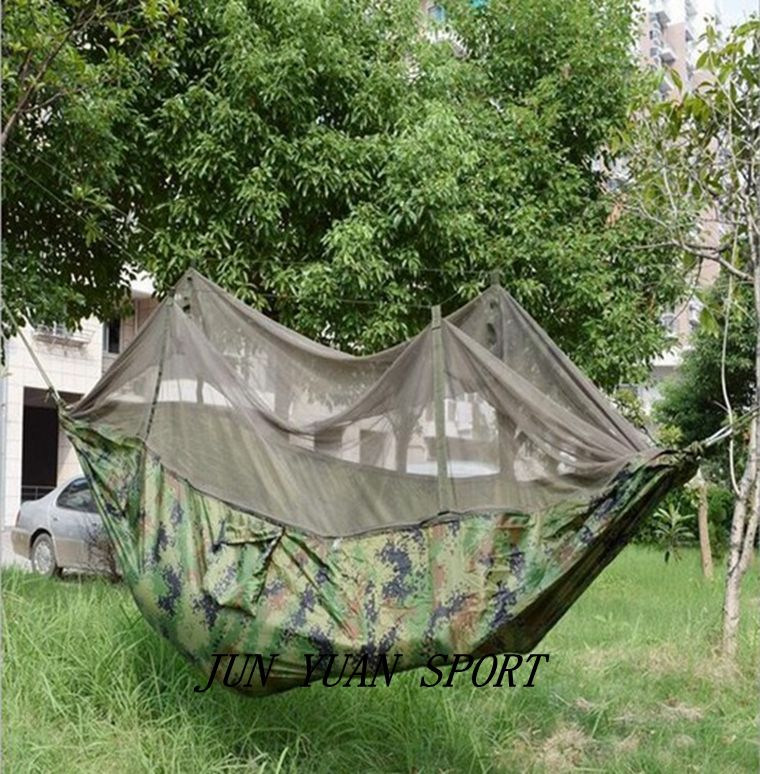 ФОТО Fishing Beach Jungle Camping Hammocks Hanging Bed Survival Garden Hunting Leisure Travel Multifunctional anti mosquito Net Tent