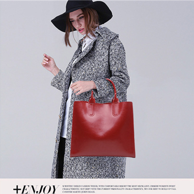 New arrival Designer genuine leather women Handbags High Quality first layer Leather bags for women Fashion shoulder bags female
