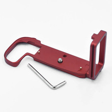 CNC Aluminum Alloy Bracket 1/4 Screw Wrench Metal Quick Release L-Shape Hand For Canon EOS-R Black/Red Parts 39mm AS