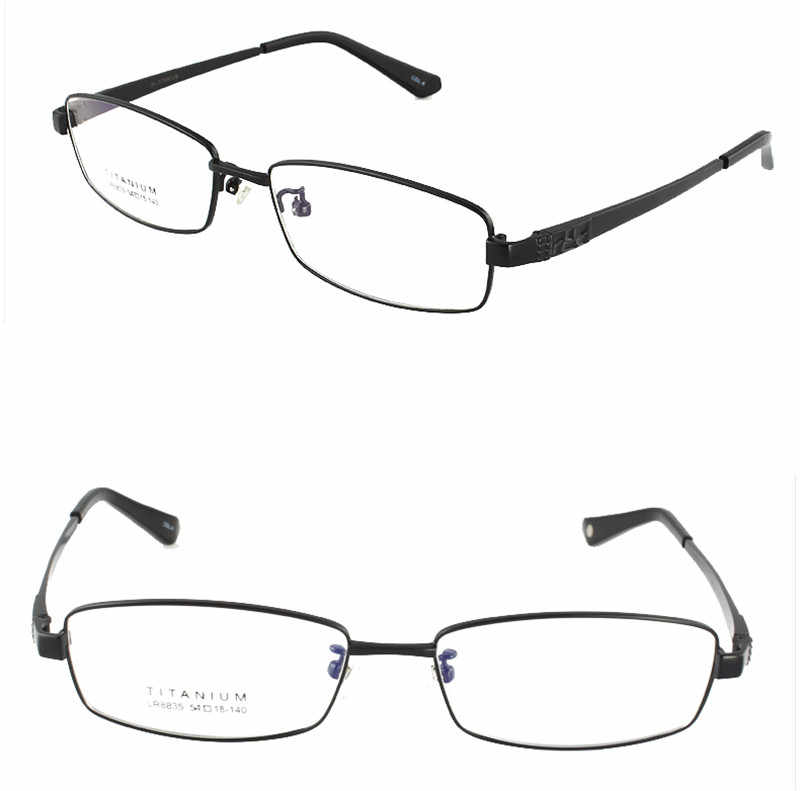 0eac7c943278 Agstum Womens Mens Pure Titanium Multi Colour Half Rimless Business Glasses  Frame Prescription Eyeglasses Clear Lens