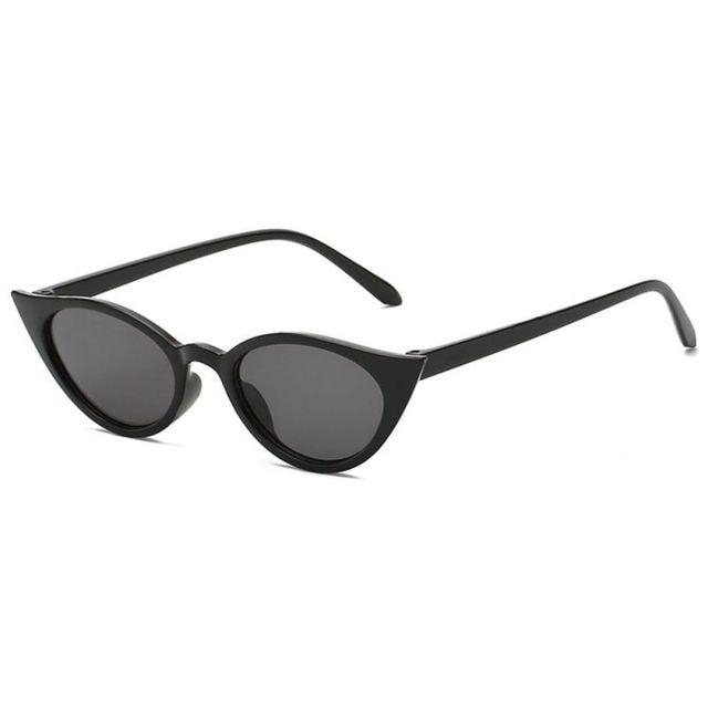 2128144e20 Nueva moda gato ojo gafas de sol mujer marca diseñador Vintage gradiente  gafas de sol sombras