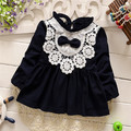Free shipping 2016 New Spring and Autumn children  t-shirt dress,baby girl t-shirt dress,kid princess dress#Z1491