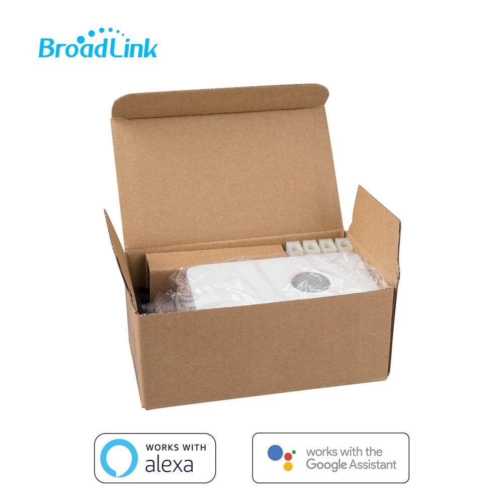 5-Paquete de Control remoto inalámbrico controlador BroadLink SC1 de Control Wi-Fi caja wifi interruptor inteligente de trabajo en casa con Google y Alexa
