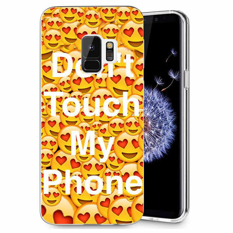 Для samsung Galaxy S3 S9Plus S8 S8 плюс S7 S7 edge Note 8 красочный чехол из ТПУ Мягкий улыбающееся лицо разноцветный дизайн узор чехол Fundas R076