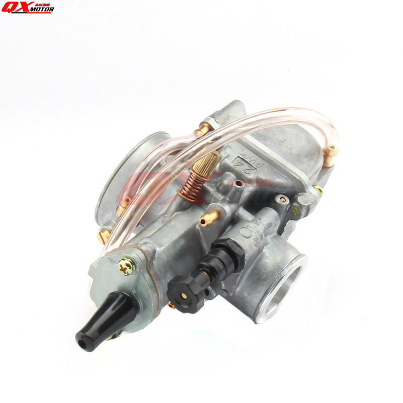 New 24mm Carb PWK Carburetor with power jet For koso oko keihi Fit 2 or 4  Stroke Motorcycle Moped Scooter motor Dirt Pit Bike