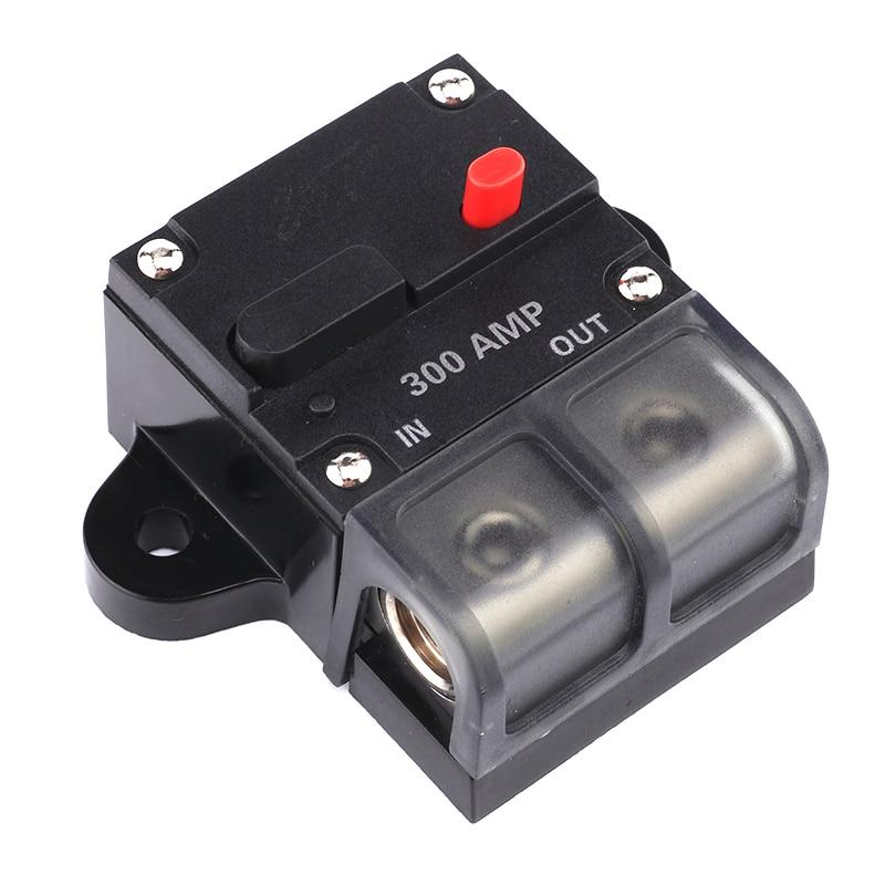 Universal In-line Manual Reset Circuit Breaker Car Stereo Audio Fuse 200A