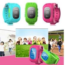 Mini kids gps tracker watch Q50 Smart watch GSM/3G/4G Sim slot SOS Emergency Anti Lost Smart Mobile Phone App Bracelet Wristband