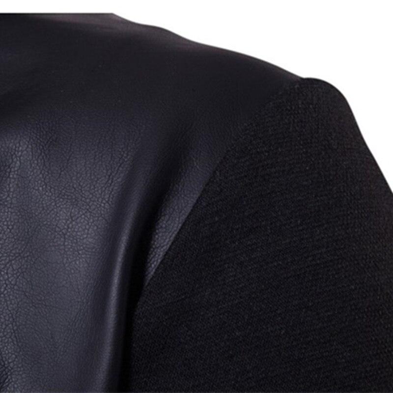 2019 модные толстовки с капюшоном Для мужчин Толстовка Топ пуловер Блузка Hombre хип хоп Для мужчин s Черный Толстовка с капюшоном на молнии Slim Fit Мужская толстовка - 4