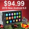 Rhythm 2 Din Android 6 0 Car Radio Auto Bluetooth Double Din Multimedia Player Universal GPS
