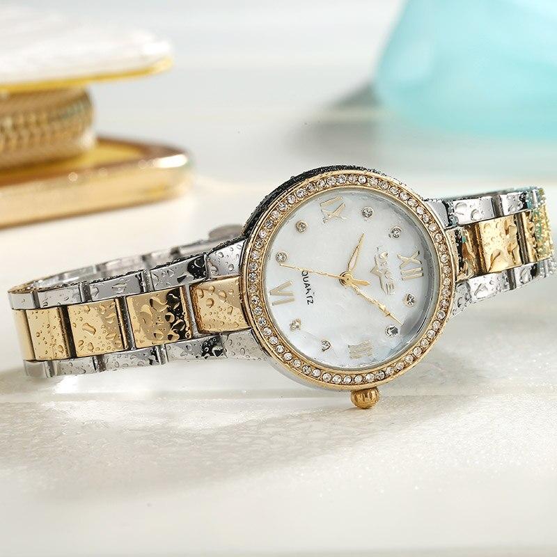 2019 Lorinser japan MOVT Sliver Stainless Steel Watches Women Top Brand Luxury Casual Clock Ladies Wrist Watch Relogio Feminino 5