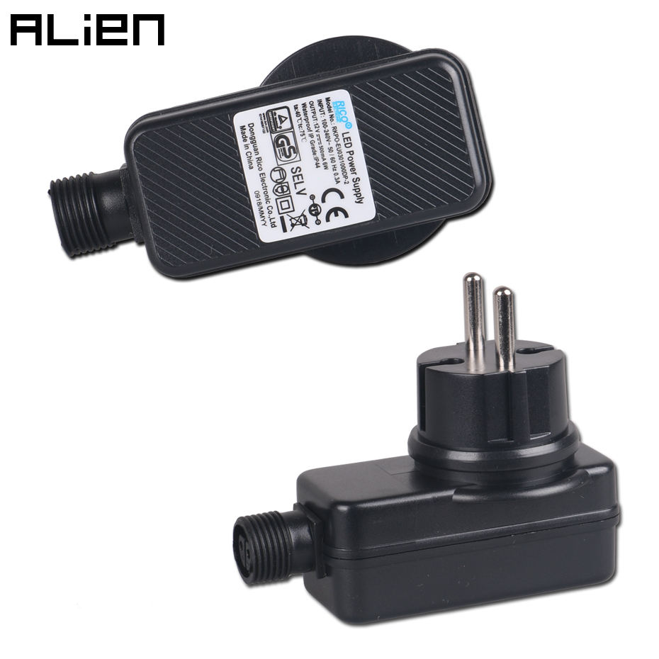 ALIEN DC 12V 500mA Power Supply US AU UK EU Plug Adapter Cord For ALIEN Outdoor Waterproof Laser Lights ODF ODS Series