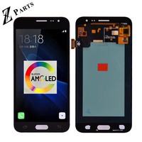 100% Original Super Amoled For Samsung J3 2016 J320 J320F J320H J320M J320FN LCD Display With Touch Screen Digitizer Assembly