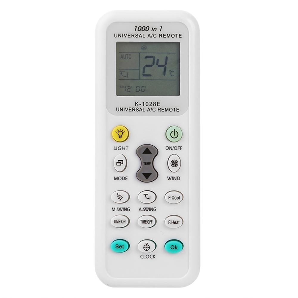 ALLOYSEED universel K-1028E faible consommation d'énergie climatisation télécommande écran LCD A/C climatiseur télécommande