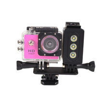 30m Underwater LED Diving Light for Gopro Hero SJcam Xiaomi Yi Sports Action Camera Fill Light Spotlight With Battery