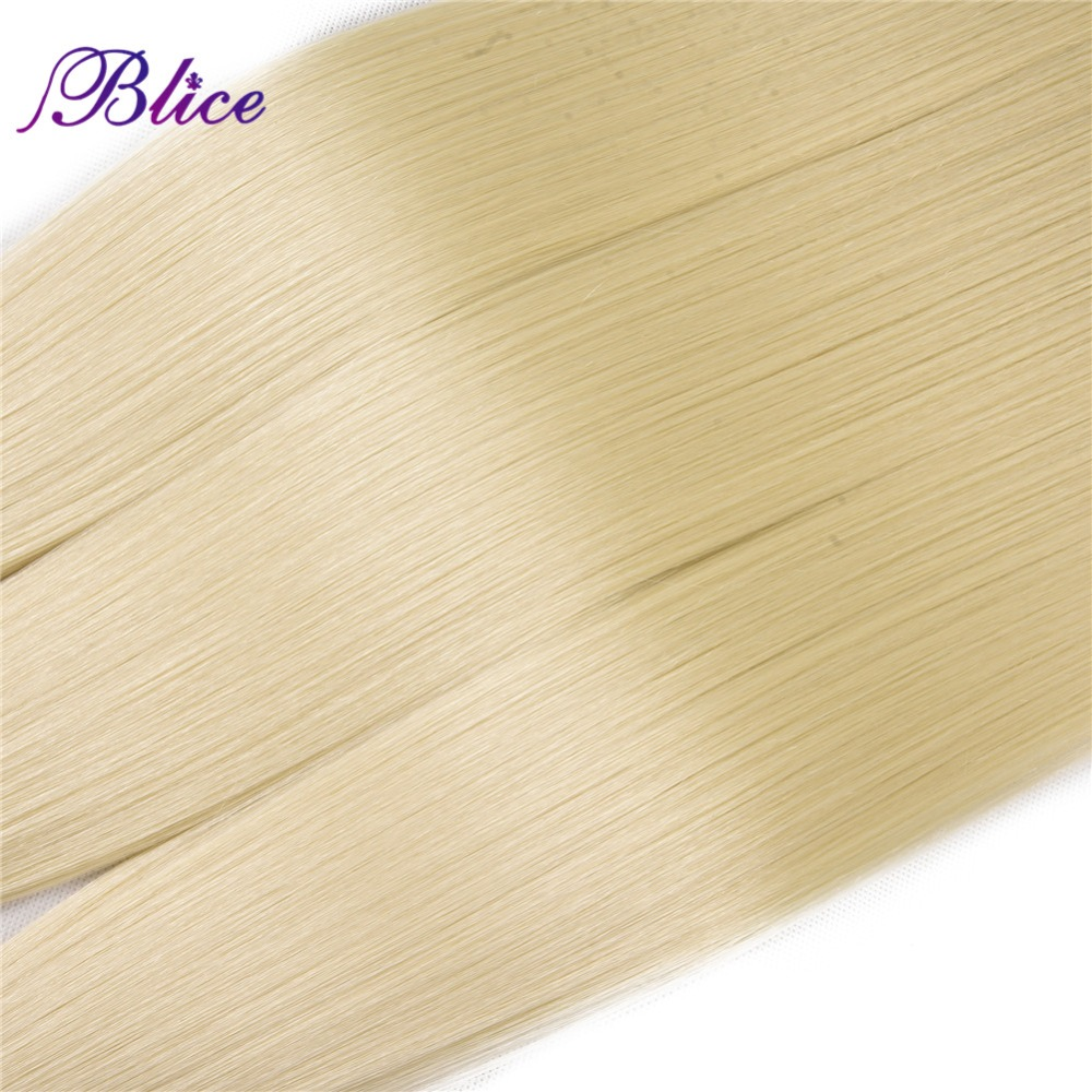 Bolce feixes de cabelo sintético com fechamento