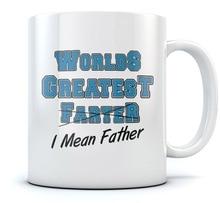 Welten Größte Farter, ich Meine Vater Kaffeetasse Geschenk für Dad, opa, mann Sohn, tochter, frau für Liebhaber Büro Tee mugen